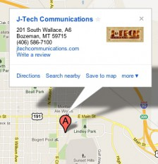 Google Maps show detailed information about your business.