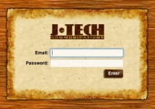 JTech Webmail Login Screen