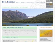 Bank of Bozeman's Home Page