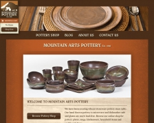 Mountain Arts Pottery Website