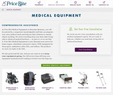 Price Rite's Medical Equipment Page