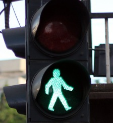 Traffic lights are more often than not, a symbol.