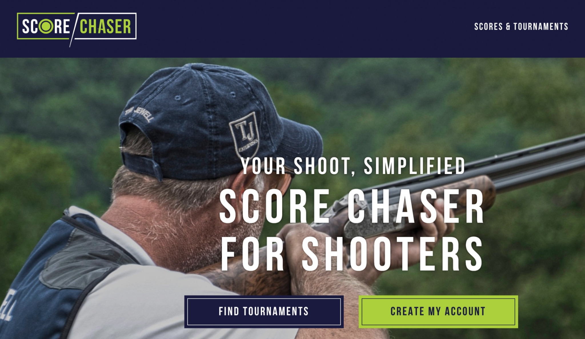 Score Chaser homepage
