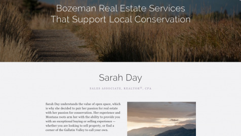 Sarah Day Bozeman Real Estate
