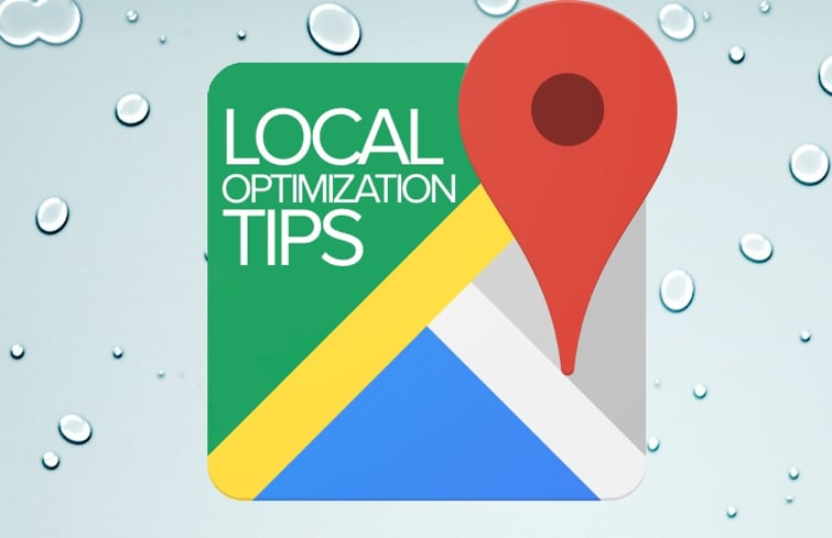 optimize your site for search local.