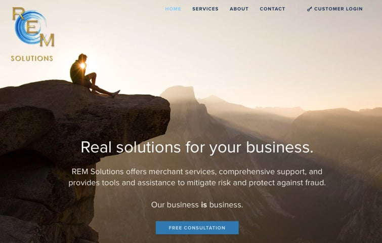 REM Solutions website.