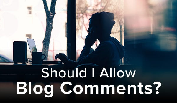 Allowing commenting on your blog.