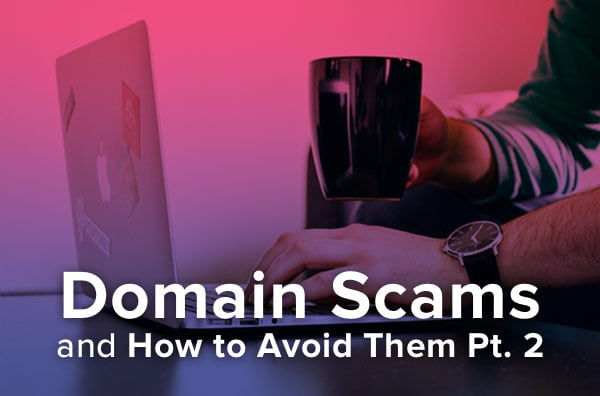 Avoiding malware scams.