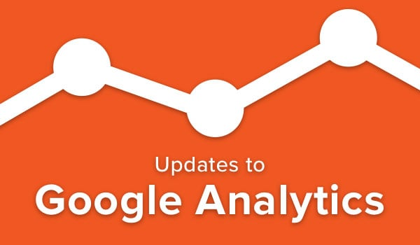 Changes to Google Analytics.