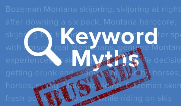 Keyword research myths.