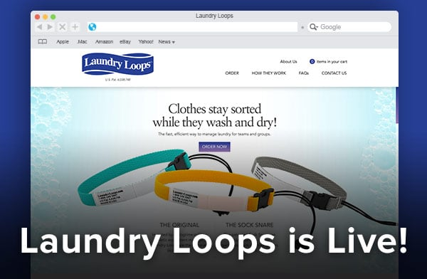 A new website for Laundry Loops.