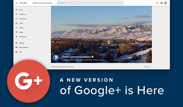 Google+ changes.