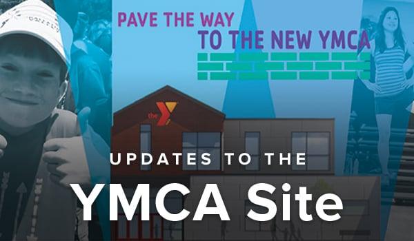 YMCA website changes.