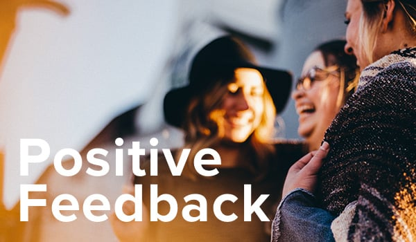 The power of positive feedback.