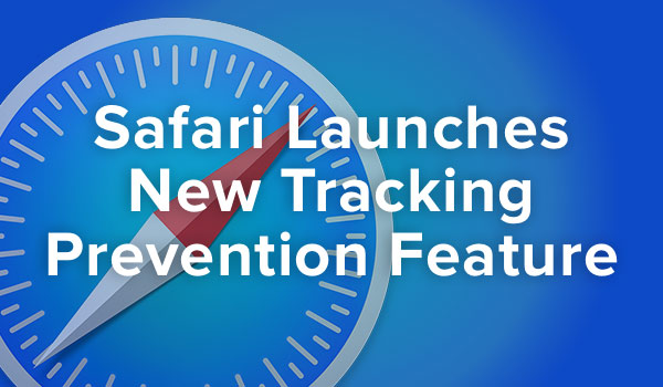 Safari enables tracking prevention.