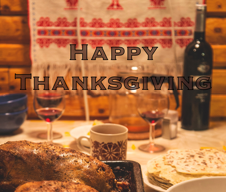 Happy Thanksgiving from JTech.