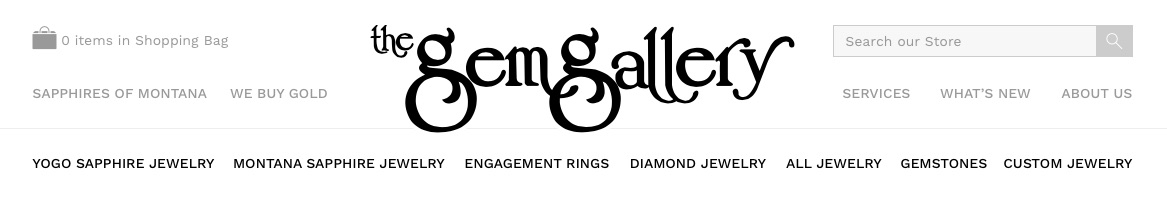 Gem Gallery Navigation.