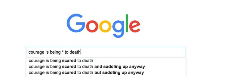 Googling.